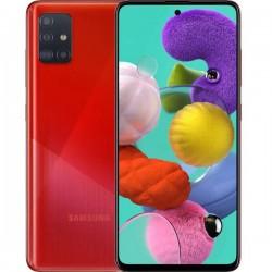 """Смартфон Samsung Galaxy A51 128GB SM-A515F Красн 2sim/6.5""""/2400*1080/8х2.3ГГц/6Gb/128Gb/mSD/48+12+5+"""