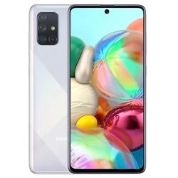 """Смартфон Samsung Galaxy A71 SM-A715F Аура 2sim/6.7""""/2400*1080/8х2.2ГГц/6Gb/128Gb/mSD/64+12+5+5Мп"""
