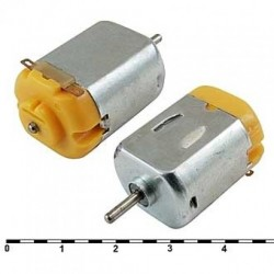 Электродвигатель F130-08450 6в(2.4..13.8в), 015вт, 2800об/мин, 7.08гс*см, 25.3*20.4мм