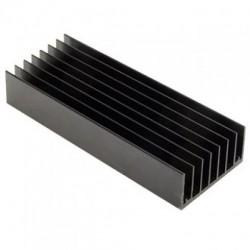 Радиатор 100*43*20мм, алюминий, HS 117-100