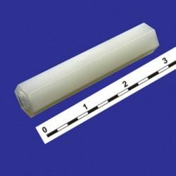 Стойка для платы шестигранник с резьбой M3 HT-330 L=30mm нейлон