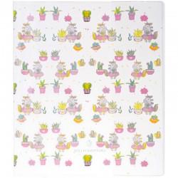 """Обложка ПВХ Greenwich Line 210*350 """"Trendy cute pat"""" для дневников и тетрадей, 3шт., 250мкм (292152)"""