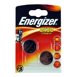 Батарейка CR2430 ENERGIZER 1 шт./3В. литиевая