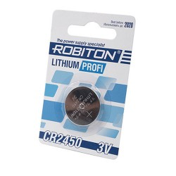 Батарейка CR2450 ROBITON 1 шт./3В. литиевая