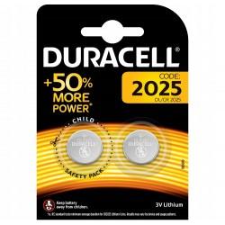 Батарейки CR2025 DURACELL 2 шт./3В. литиевая
