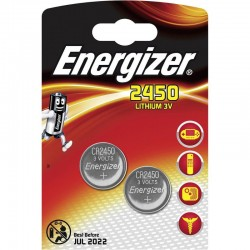 Батарейки CR2450 Energizer 2 шт./3В. литиевая