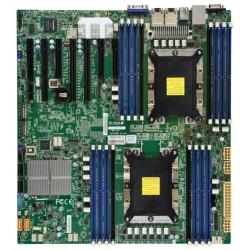 Supermicro Motherboard 2xCPU X11DPH-T Xeon Scalable TDP 205W/ 16xDIMM/ 10xSATA/ C622 RAID 0/1/5/10/ 2x10GbE/ 3xPCIex16, 4xPCIex8/ 2xM.2(PCIe)(E-ATX)