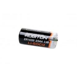 Батарейка ER14335(2/3AA) ROBITON 1 шт./3,6В. литиевая