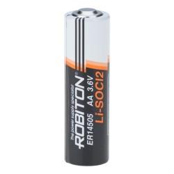 Батарейка ER14505(AA) ROBITON 1 шт./3,6В. литиевая