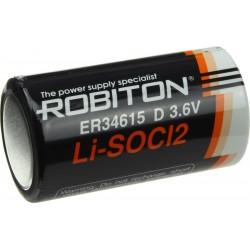 Батарейка ER34615(D) ROBITON 1 шт./3,6В. литиевая