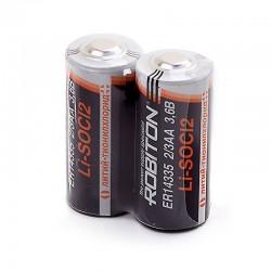 Батарейки ER14335(2/3AA) ROBITON 2 шт./3,6В. литиевая