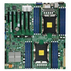 Supermicro Motherboard 2xCPU X11DPI-NT Xeon Scalable TDP 205W/ 16xDIMM/ 14xSATA/ C622 RAID 0/1/5/10/ 2x10GbE/ 4xPCIex16, 2xPCIex8/ M.2(PCIe)(E-ATX)