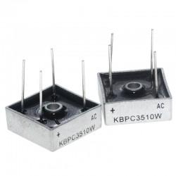 диодный мост KBPC3510W/35A 1000в MB-35W