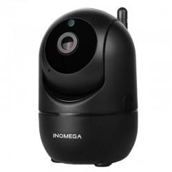 IP-видеокамера IL-HIP291G-2M-AI BLACK пластик,2MP,3,6мм,DC12В,ИК