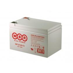 Аккумулятор WBR GP12120 12V,12Ah F2 (в94+6/д151/ш98)