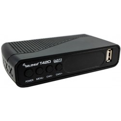 Цифровая приставка DVB-T2 Selenga T42D HDMI 1080p/RCA/TimeShift/ТВгид/запись