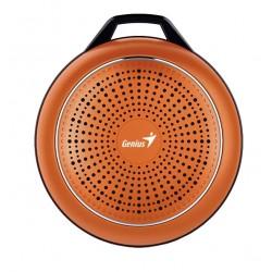 Портативная колонка Genius SP-906BT Plus 3Вт, Bluetooth 4.1, питание от аккумулятора, Оранжевый