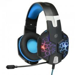 Игровая гарнитура Oklick HS-L930G SNORTER мониторные, 32Ом, 112дБ, кабель 2.2м, Black