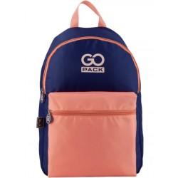 Рюкзак GoPack Сity 159-3 фиолетовый, персиковый GO20-159L-3