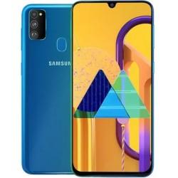"""Смартфон Samsung Galaxy M21 SM-M215F Бирюзов 2sim/6.4""""/2340*1080/4х2.3ГГц+4*1.7/4Gb/64Gb/mSD/48+8+5М"""