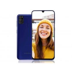 """Смартфон Samsung Galaxy M21 SM-M215F Синий 2sim/6.4""""/2340*1080/4х2.3ГГц+4*1.7/4Gb/64Gb/mSD/48+8+5МП/"""