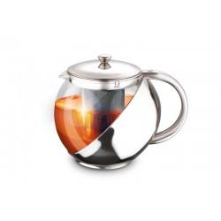Заварник (чайник LARA LR06-09 500мл, СТАЛЬНАЯ РУЧКА, стальной фильтр