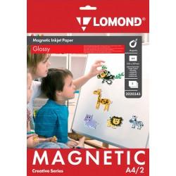 Бумага Lomond 660 г/м2, А4, глянцевая, магнитный слой для струйной печати, 2л. (2020345)
