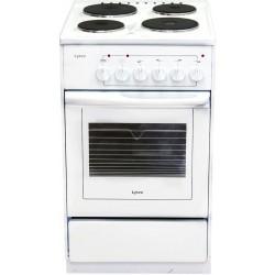 Плита электрическая Лысьва ЭП 4/1э03 White 4 конфорки, духовка 57л, 50x60x84, механ. управление