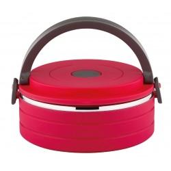 Термоконтейнер Bekker BK-4381 16,5*15*7см,красный,600 мл,пластик и нерж.сталь,крышка с силиконовым уплотнителем,ручная чистка