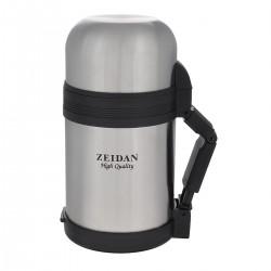 Термос Zeidan Z-9029 нерж.сталь,Wallace обеденный 800 мл,универсал узкое/широкое горло