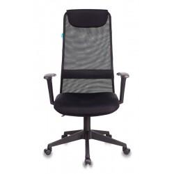 Кресло руководителя Бюрократ KB-8N/BLACK черный TW-01, TW-11 сетка