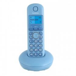 Радиотелефон Panasonic KX-TGB210 RUF,голубой 1трубка/50м/300м/АОН/книга 50номеров/-/-/-/16-280ч