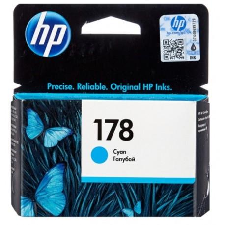 Картридж струйный HP CB318HE №178 для C5383/C6383/B8553/D5463 Cyan . .