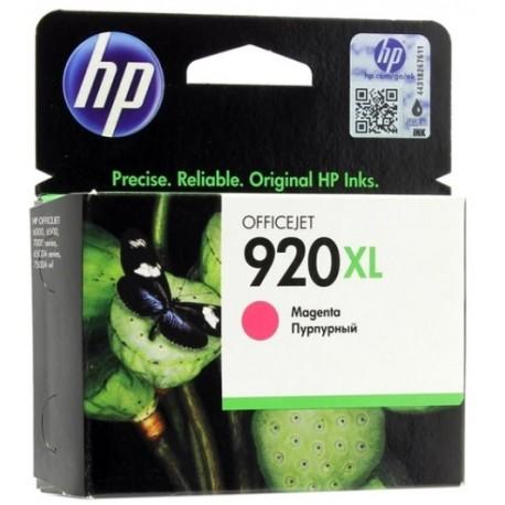 Картридж струйный HP CD973AE №920XL для Officejet 6000/6500 Magenta