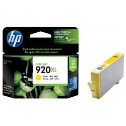 Картридж струйный HP CD974AE №920XL для Officejet 6000/6500 Yellow
