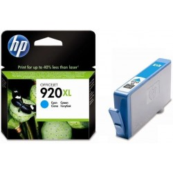 Картридж струйный HP CD972AE №920XL для Officejet 6000/6500 Cyan