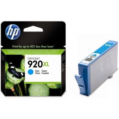 Картридж струйный HP CD972AE №920XL для Officejet 6000/6500 Cyan