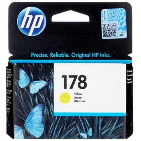 Картридж струйный HP CB320HE №178 для C5383/C6383/B8553/D5463 Yellow . .