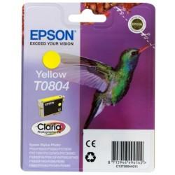 Картридж струйный EPSON T0804 (C13T08044011) для Stylus Photo P50/PX660/PX720WD Yellow