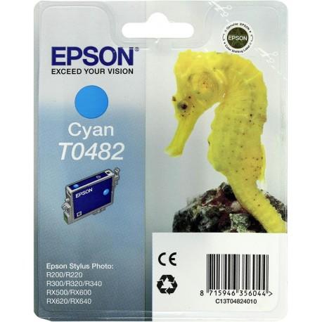 Картридж струйный EPSON T048240 для Photo R200/300/RX500/600 Cyan . .