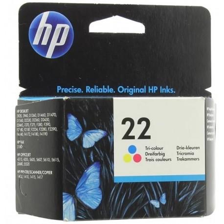 Картридж струйный HP C9352AE №22 для DJ3920/3940 Color . .