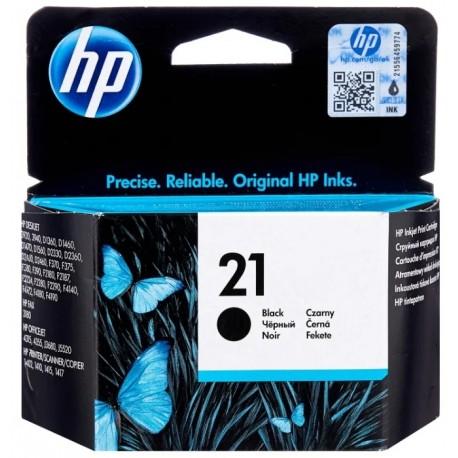 Картридж струйный HP C9351AE №21 для DJ 3920/3940 Black . .