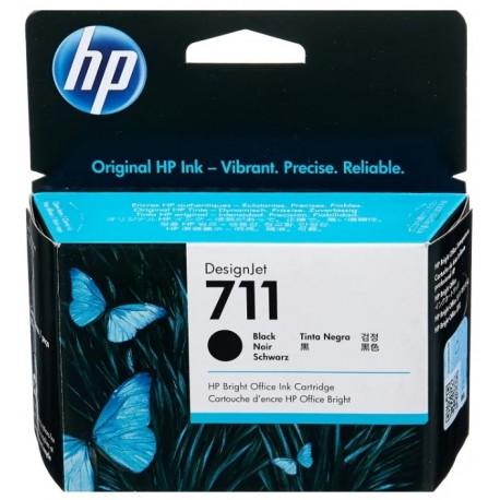 Картридж струйный HP CZ133A (711) Black для DesignJet T120/ 520, 80мл.