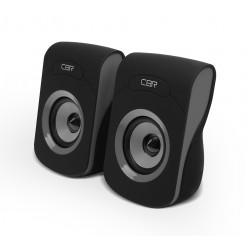 Актив.колонки 2.0 CBR CMS-366 6Вт, питание от USB, пластик, Серый