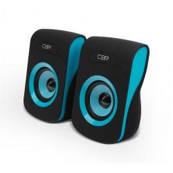 Актив.колонки 2.0 CBR CMS-366 6Вт, питание от USB, пластик, Синий