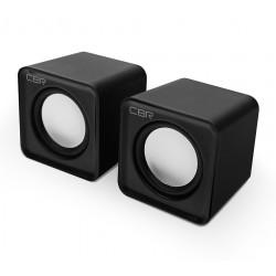 Актив.колонки 2.0 CBR CMS-90 1,5Вт, питание от USB, пластик, Black