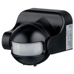 Датчик движения инфракрасный ДД-009 IEK черный, 220В, 1100Вт, 180град. LDD10-009-1100-001