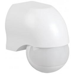 Датчик движения инфракрасный ДД-010 IEK белый, 220В, 1100Вт, 10м, 180град. LDD10-010-1100-001