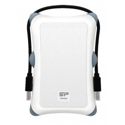 "Внешний жесткий диск Silicon Power SP010TBPHDA30S3W белый Armor A30 (USB3.0,2.5"",1TB)"