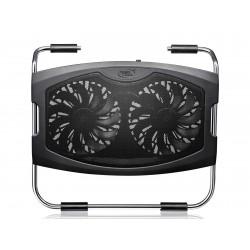 """Охлаждение для ноутбука до 15.6"""" DEEPCOOL N2000 IV Black вентилятор 2x140мм"""